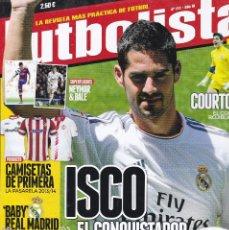 Coleccionismo deportivo: FUTBOLISTA Nº 124. ISCO EL CONQUISTADOR LLEGA AL BERNABEU. Lote 236708685