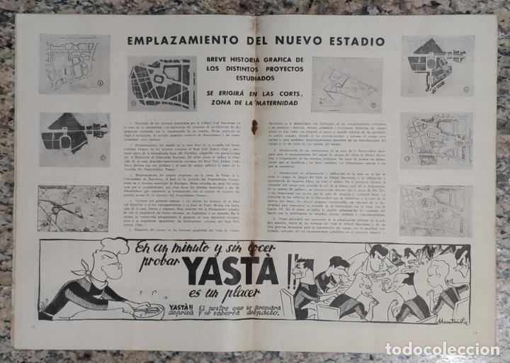 Coleccionismo deportivo: REVISTA OFICIAL CLUB DE FUTBOL BARCELONA (COLECCION COMPLETA) (C.F.B. 1954) - Foto 4 - 237543090