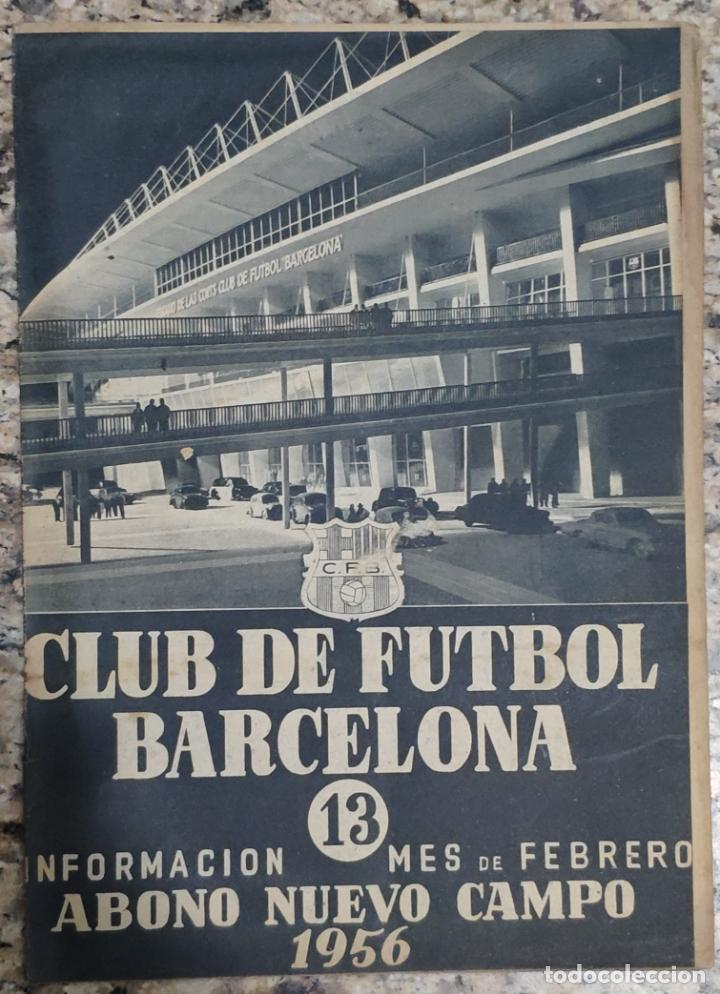 Coleccionismo deportivo: REVISTA OFICIAL CLUB DE FUTBOL BARCELONA (COLECCION COMPLETA) (C.F.B. 1954) - Foto 5 - 237543090