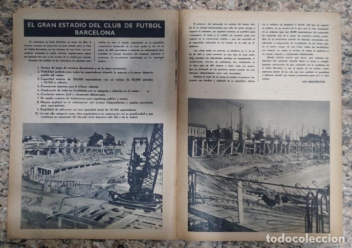 Coleccionismo deportivo: REVISTA OFICIAL CLUB DE FUTBOL BARCELONA (COLECCION COMPLETA) (C.F.B. 1954) - Foto 7 - 237543090