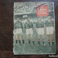 Coleccionismo deportivo: MAGAZINE-CAMPEONATO MUNDIAL 1950-PICHICHI-SAMITIER-VER FOTOS-(V-22.515). Lote 238494195