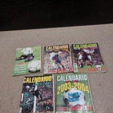 Coleccionismo deportivo: CALENDARIOS DEPORTIVOS DON BALON...LIGA..94/95..99/00..01/02..02/03..03/04..... Lote 241952000