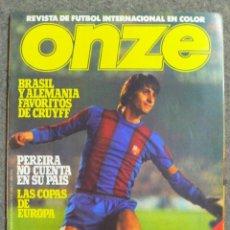 Coleccionismo deportivo: REVISTA DE FÚTBOL ONZE AÑO 1 NÚMERO 2 DE 1978 EN ESPAÑOL. Lote 242838545