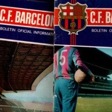Coleccionismo deportivo: BOLETIN OFICIAL INFORMATIVO F.C. BARCELONA. LOTE 44 NUMEROS DEL 1-45, (4 AÑOS) VER DESCRIPCION... Lote 243077395