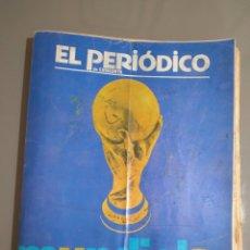 Coleccionismo deportivo: MUNDIAL 82.EL PERIÓDICO.COMPLETA.34 EJEMPLARES. Lote 243534740