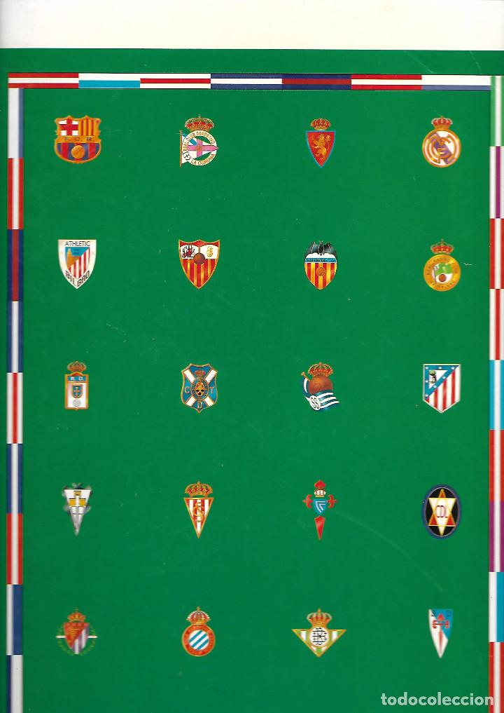 Coleccionismo deportivo: CARPETA COMPLETA CON LOS 22 FASCICULOS HISTORIA DE LOS CLUBES DE PRIMERA DIVISIÓN 94-95 D INTERVIÚ - Foto 2 - 243647215