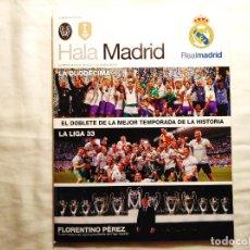 Coleccionismo deportivo: REVISTA HALA MADRID - EL DOBLETE. Lote 244579195