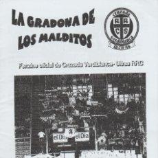 Coleccionismo deportivo: FANZINE CRUZADA VERDIBLANCA 2 RACING DE SANTANDER ULTRAS HOOLIGANS. Lote 244914595