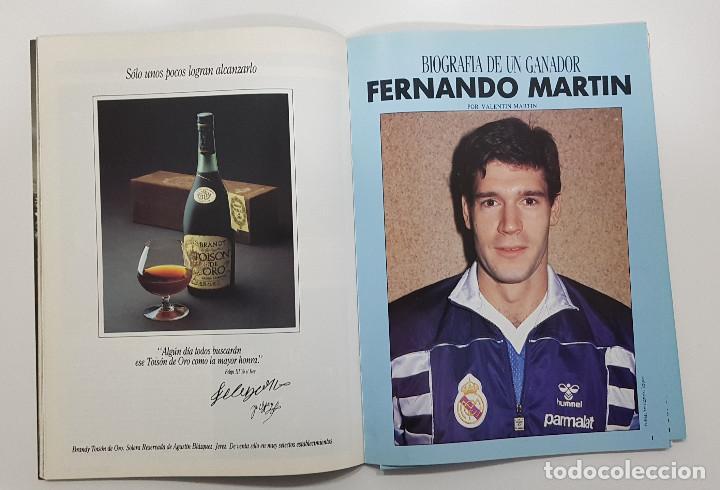 Coleccionismo deportivo: REVISTA REAL MADRID Nº 9 1990. FERNANDO MARTIN BIOGRAFÍA(sin poster), BUYO, PEÑA MADRIDISTA SANT BOI - Foto 2 - 245023445