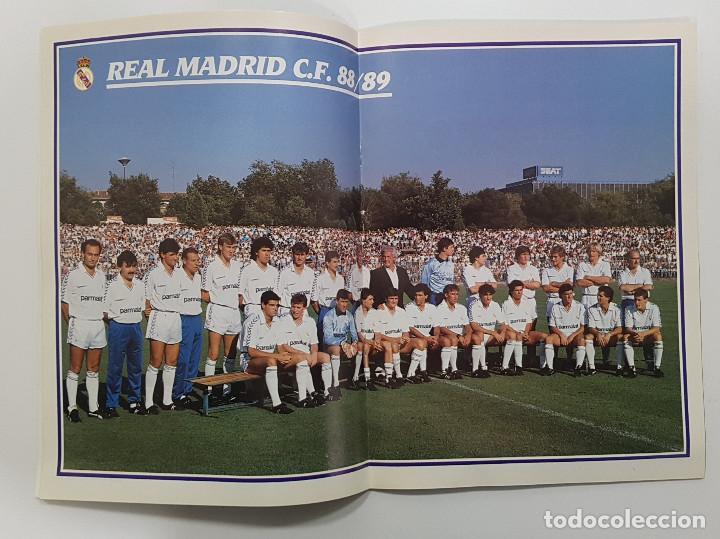 Coleccionismo deportivo: REVISTA REAL MADRID Nº 456 1988. POSTER REAL MADRID Y CASTILLA. ESTEBAN.LOSADA.CAÑIZARES.ARAGON - Foto 2 - 245028940