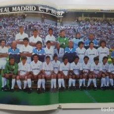 Coleccionismo deportivo: REVISTA REAL MADRID Nº 434 1986. FICHAJE BUYO BEENHAKKER, VALDANO, POVLSEN, POSTER REAL MADRID. Lote 245112055