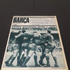 Coleccionismo deportivo: REVISTA BARÇA. N° 588. FEBRERO 1967.. Lote 245372270