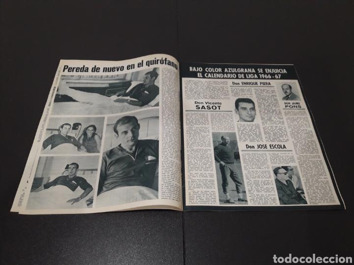 Coleccionismo deportivo: REVISTA BARÇA. N° 555. JULIO 1966. - Foto 3 - 245373130