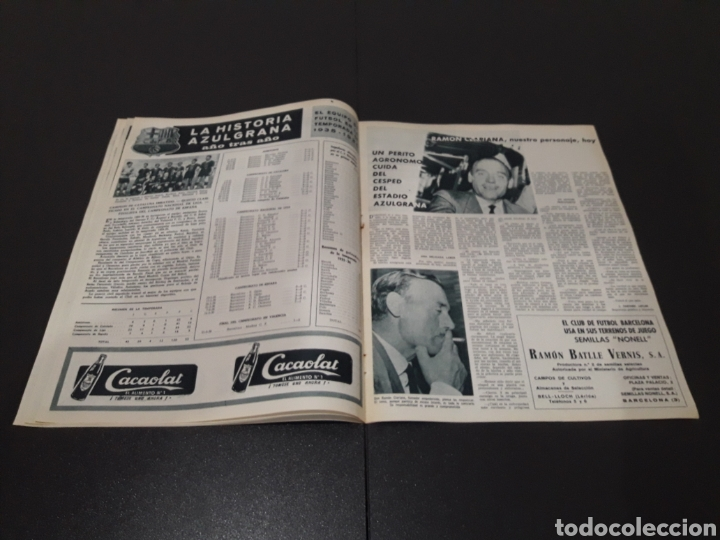 Coleccionismo deportivo: REVISTA BARÇA. N° 555. JULIO 1966. - Foto 5 - 245373130