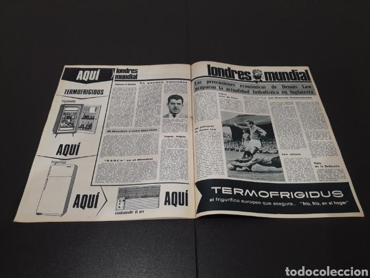 Coleccionismo deportivo: REVISTA BARÇA. N° 555. JULIO 1966. - Foto 10 - 245373130