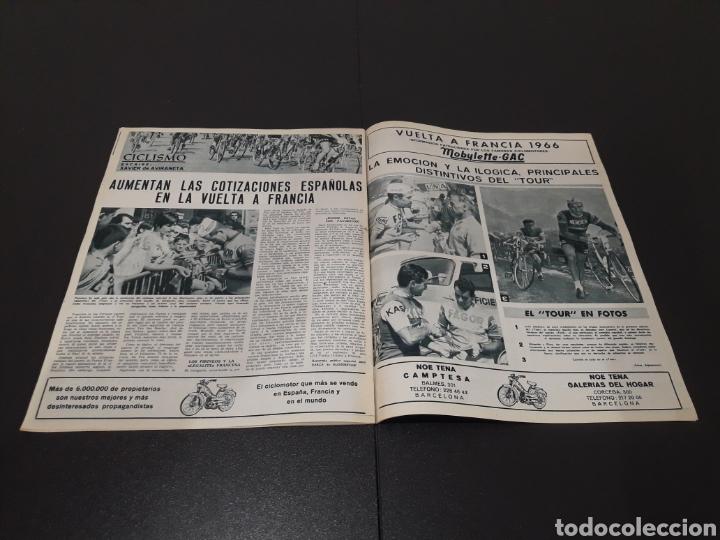 Coleccionismo deportivo: REVISTA BARÇA. N° 555. JULIO 1966. - Foto 11 - 245373130