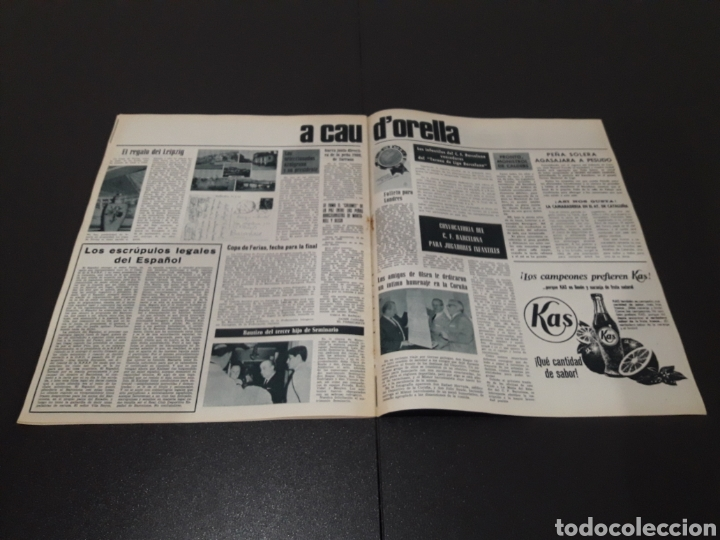 Coleccionismo deportivo: REVISTA BARÇA. N° 555. JULIO 1966. - Foto 12 - 245373130