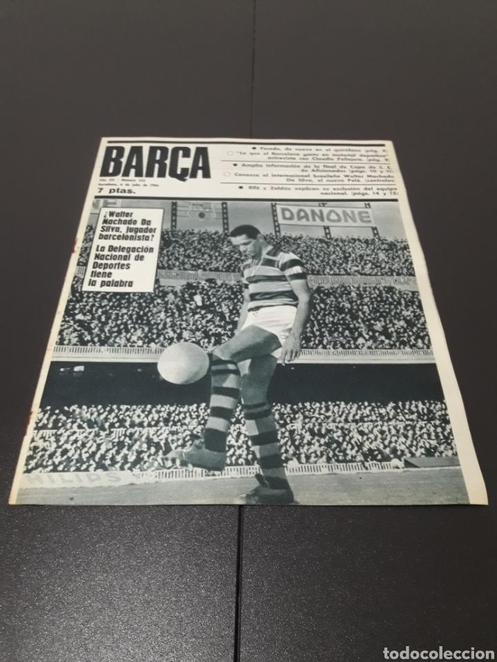 REVISTA BARÇA. N° 555. JULIO 1966. (Coleccionismo Deportivo - Revistas y Periódicos - otros Fútbol)