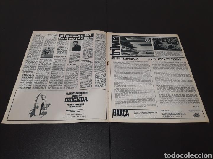 Coleccionismo deportivo: REVISTA BARÇA. N° 554. JUNIO 1966. - Foto 2 - 245373590