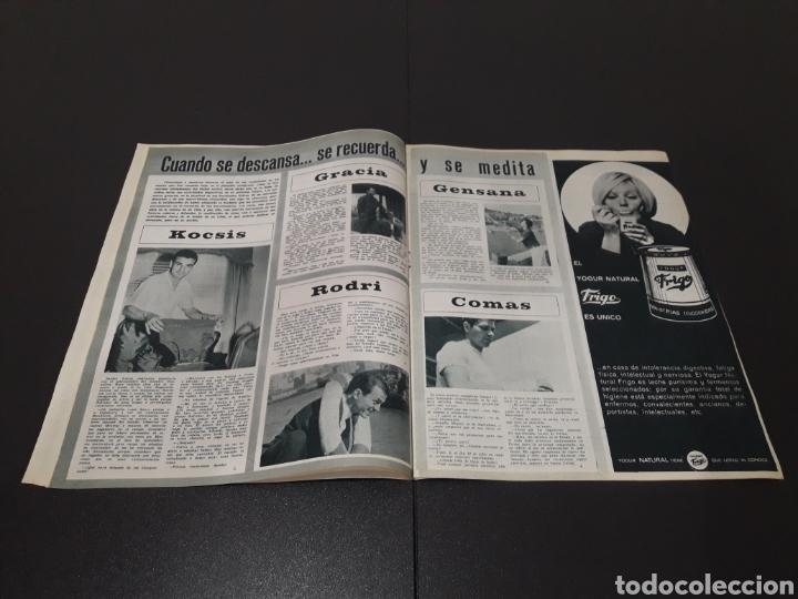 Coleccionismo deportivo: REVISTA BARÇA. N° 554. JUNIO 1966. - Foto 5 - 245373590