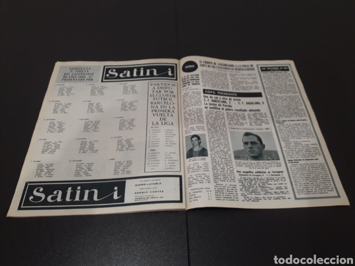Coleccionismo deportivo: REVISTA BARÇA. N° 554. JUNIO 1966. - Foto 9 - 245373590