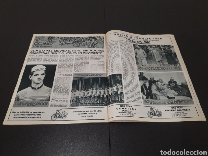 Coleccionismo deportivo: REVISTA BARÇA. N° 554. JUNIO 1966. - Foto 11 - 245373590
