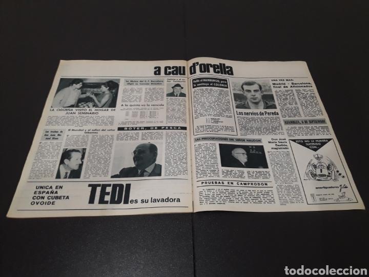 Coleccionismo deportivo: REVISTA BARÇA. N° 554. JUNIO 1966. - Foto 12 - 245373590