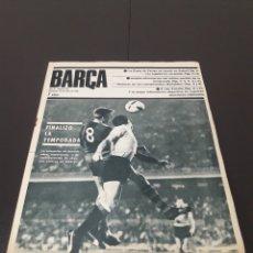 Coleccionismo deportivo: REVISTA BARÇA. N° 554. JUNIO 1966.. Lote 245373590