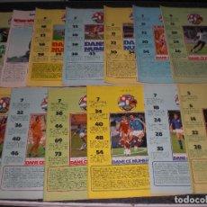 Coleccionismo deportivo: LOTE 13 REVISTAS ONZE FRANCIA 1978-1979. Lote 245374485