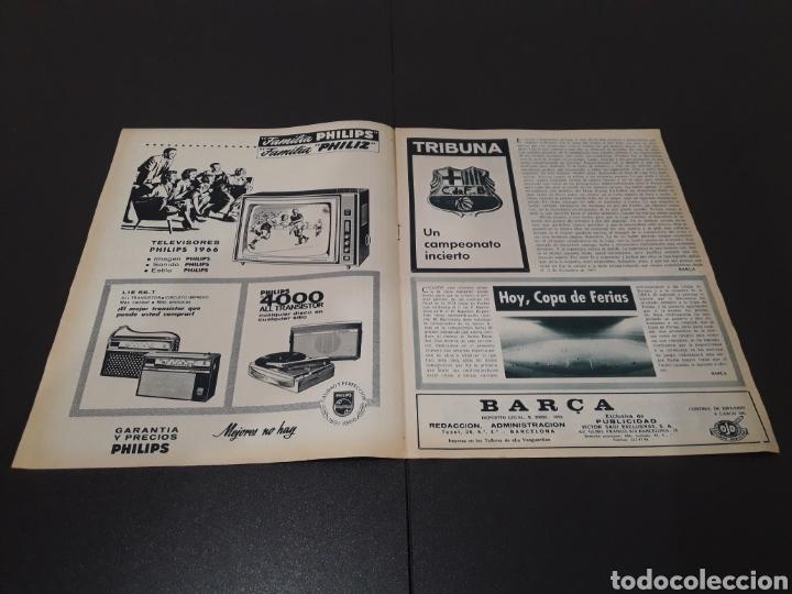 Coleccionismo deportivo: REVISTA BARÇA. N° 539. MARZO 1966. - Foto 2 - 245375945