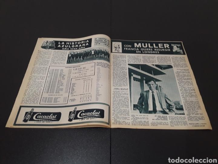 Coleccionismo deportivo: REVISTA BARÇA. N° 539. MARZO 1966. - Foto 3 - 245375945