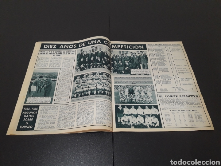 Coleccionismo deportivo: REVISTA BARÇA. N° 539. MARZO 1966. - Foto 4 - 245375945