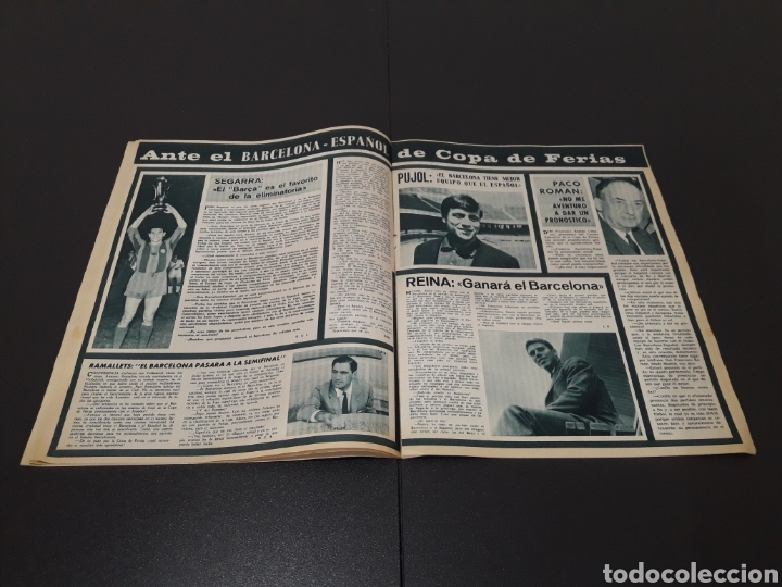 Coleccionismo deportivo: REVISTA BARÇA. N° 539. MARZO 1966. - Foto 6 - 245375945