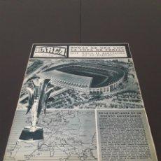 Coleccionismo deportivo: REVISTA BARÇA. N° 539. MARZO 1966.. Lote 245375945