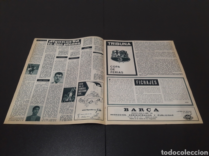 Coleccionismo deportivo: REVISTA BARÇA. N° 538. MARZO 1966. - Foto 2 - 245376400