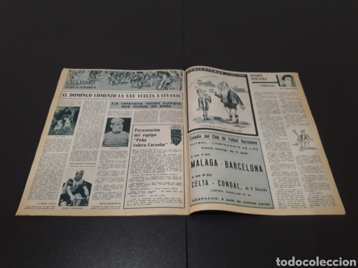 Coleccionismo deportivo: REVISTA BARÇA. N° 538. MARZO 1966. - Foto 11 - 245376400