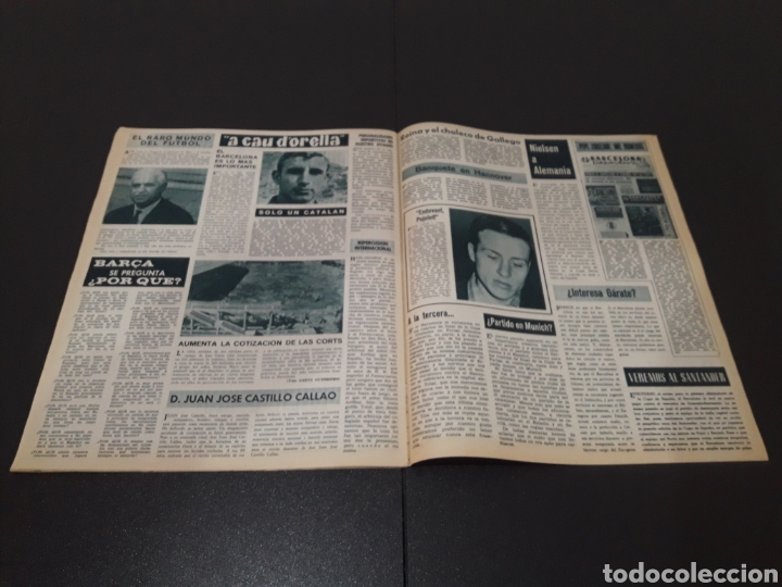Coleccionismo deportivo: REVISTA BARÇA. N° 538. MARZO 1966. - Foto 12 - 245376400