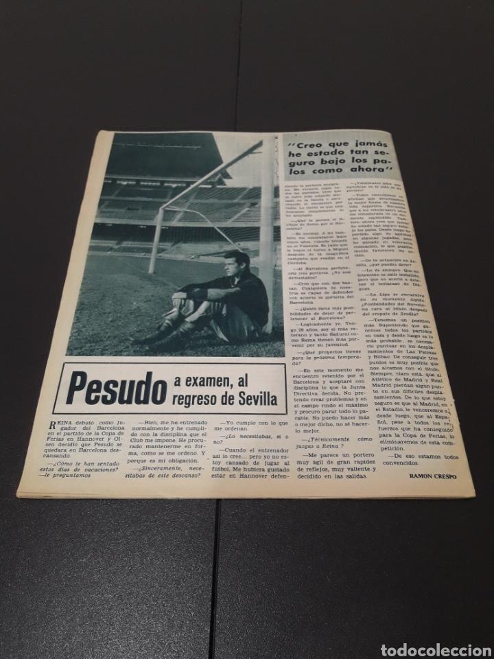 Coleccionismo deportivo: REVISTA BARÇA. N° 538. MARZO 1966. - Foto 13 - 245376400