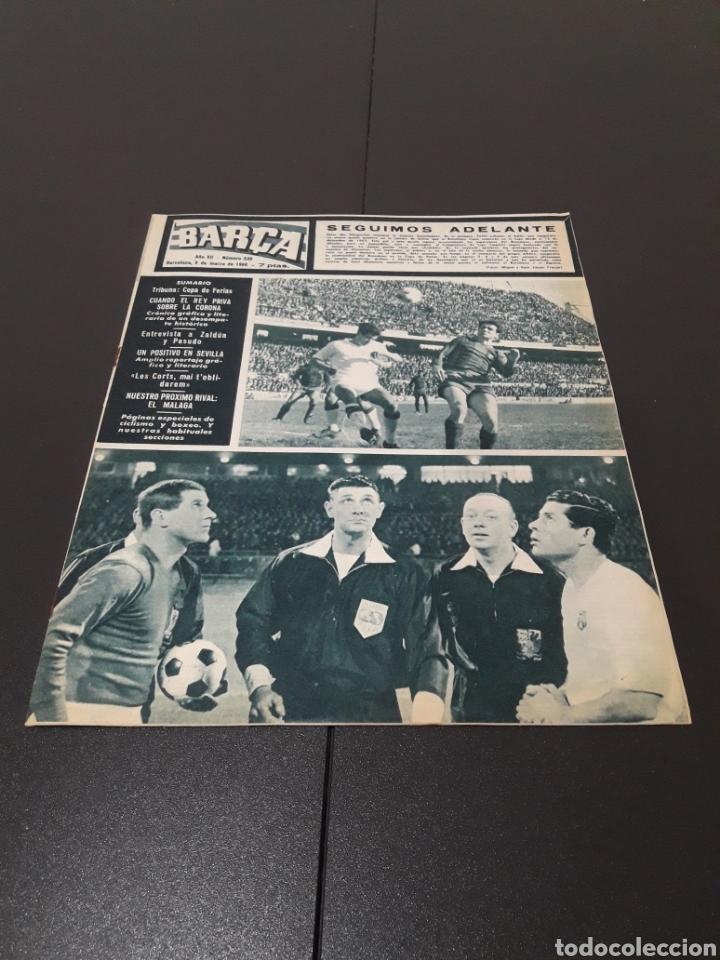 REVISTA BARÇA. N° 538. MARZO 1966. (Coleccionismo Deportivo - Revistas y Periódicos - otros Fútbol)