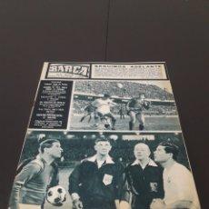 Coleccionismo deportivo: REVISTA BARÇA. N° 538. MARZO 1966.. Lote 245376400