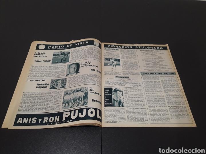 Coleccionismo deportivo: REVISTA BARÇA. N° 479. ENERO 1965. - Foto 6 - 245378315