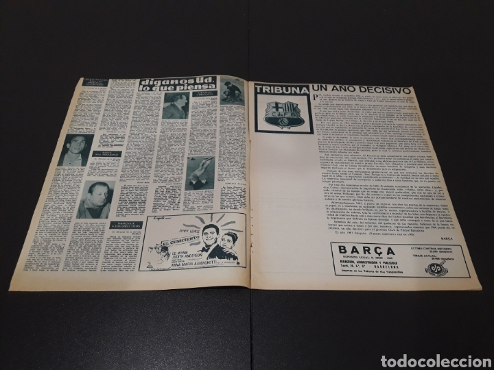 Coleccionismo deportivo: REVISTA BARÇA. N° 528. DICIEMBRE 1965. - Foto 2 - 245379160