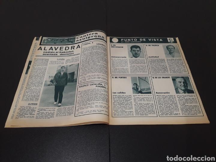 Coleccionismo deportivo: REVISTA BARÇA. N° 528. DICIEMBRE 1965. - Foto 3 - 245379160