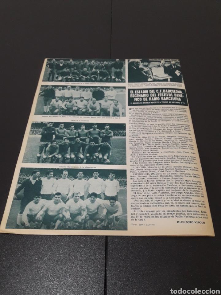 Coleccionismo deportivo: REVISTA BARÇA. N° 528. DICIEMBRE 1965. - Foto 13 - 245379160