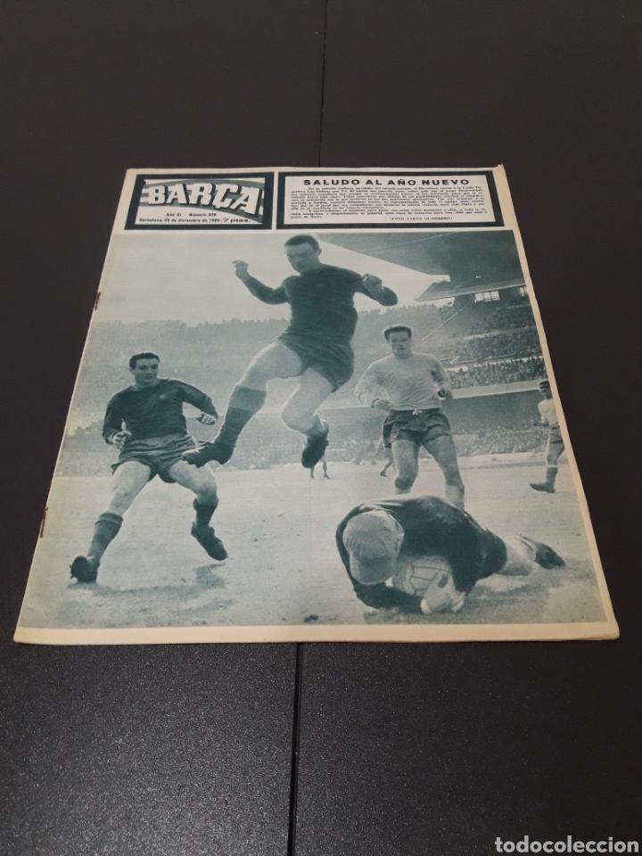 REVISTA BARÇA. N° 528. DICIEMBRE 1965. (Coleccionismo Deportivo - Revistas y Periódicos - otros Fútbol)