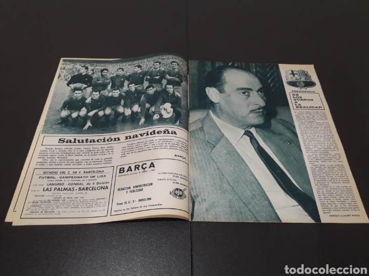 Coleccionismo deportivo: REVISTA BARÇA. N° 527. DICIEMBRE 1965. - Foto 3 - 245380035