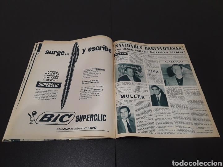 Coleccionismo deportivo: REVISTA BARÇA. N° 527. DICIEMBRE 1965. - Foto 12 - 245380035
