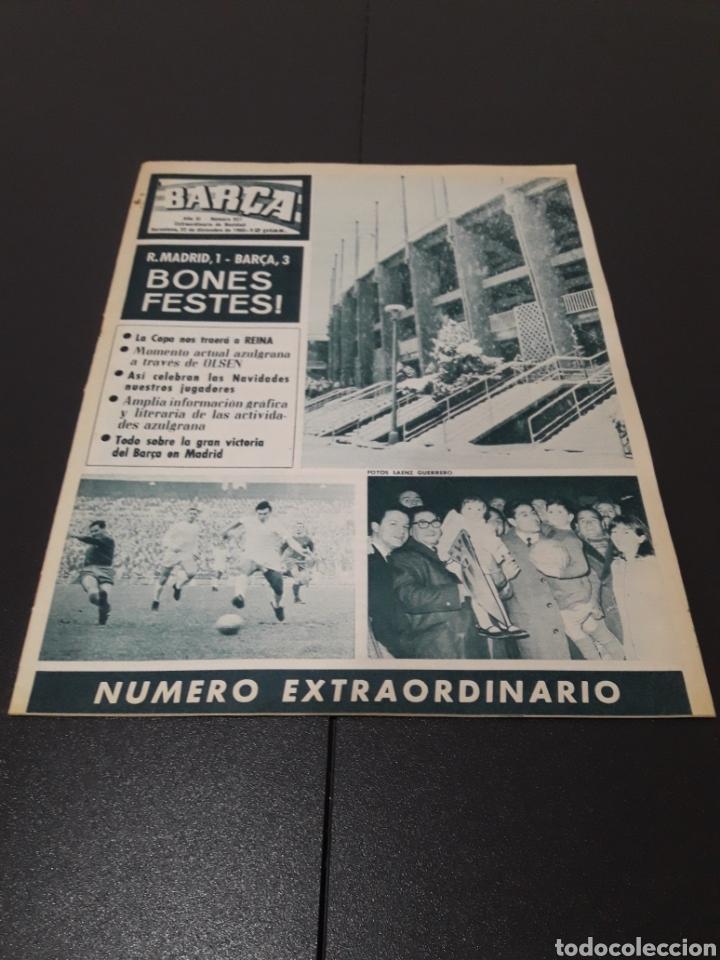 REVISTA BARÇA. N° 527. DICIEMBRE 1965. (Coleccionismo Deportivo - Revistas y Periódicos - otros Fútbol)