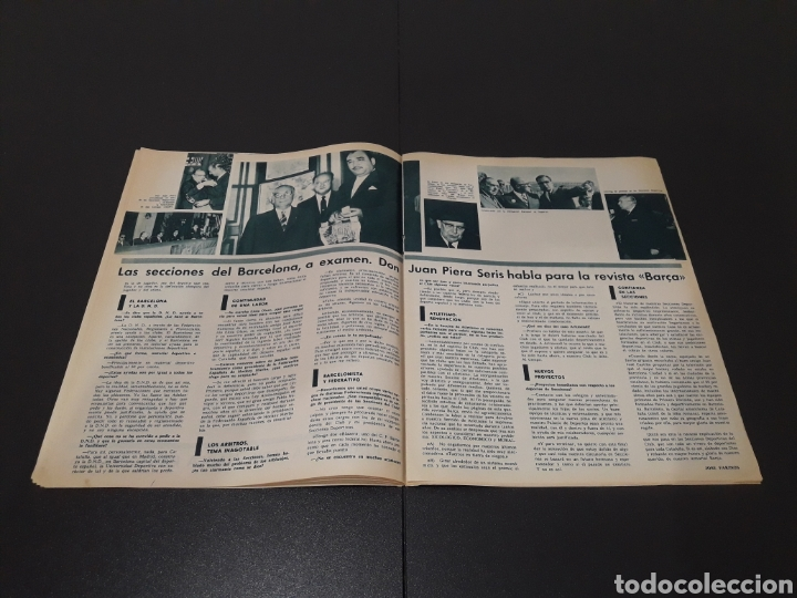 Coleccionismo deportivo: REVISTA BARÇA. N° 577. DICIEMBRE 1966. - Foto 6 - 245383230