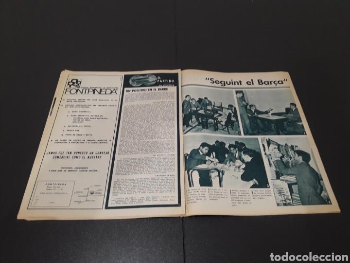 Coleccionismo deportivo: REVISTA BARÇA. N° 577. DICIEMBRE 1966. - Foto 8 - 245383230